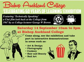 Celebrating 60 years of learning at Bishop Auckland College