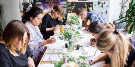 Beginners Modern Calligraphy Workshop tickets