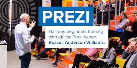 Prezi training London, Oct 2 tickets