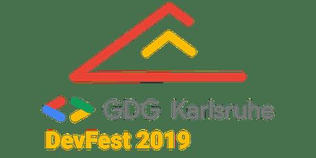 GDG DevFest Karlsruhe 2019 tickets
