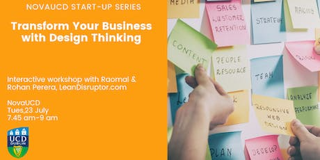 Transform Your Business with Design Thinking tickets