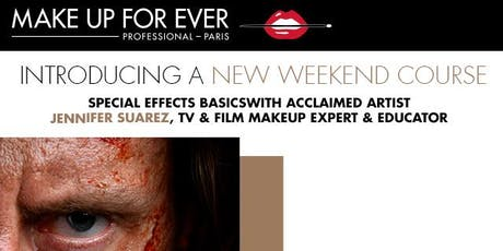 Make Up For Ever Academy Weekend Intensive: Special FX Basics! tickets