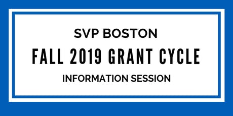 Fall Grant Cycle Information Session 1 tickets