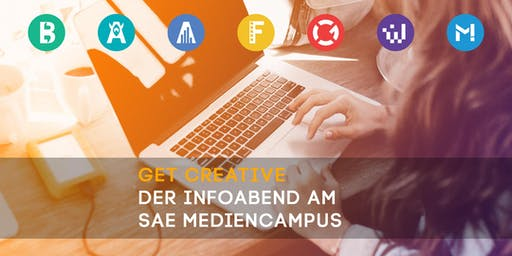 get creative - Der Infoabend am SAE Mediencampus Hamburg