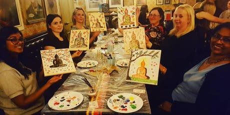 Prosecco and Paint- Learn to Paint a Buddha Inspired Canvas tickets
