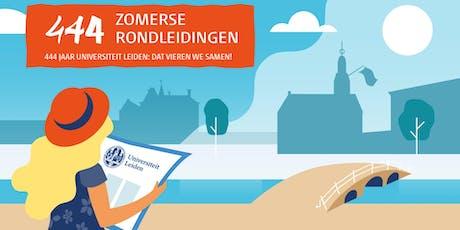 444 - Zomerse Rondleidingen - NL - Academiegebouw + Bibliotheca Thysiana  tickets