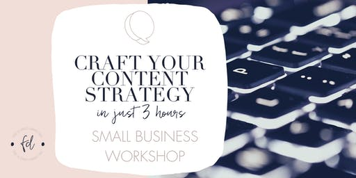 Craft your Content Strategy in 3 hours