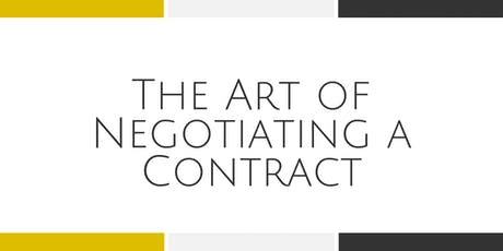 The Art of Negotiating a Contract with Kim Giles - Arlington tickets
