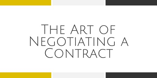 The Art of Negotiating a Contract with Kim Giles - Arlington