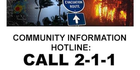 2-1-1 Disaster Volunteer Orientation tickets