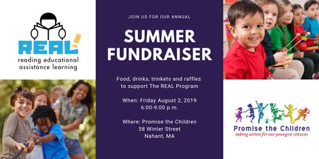 Summer Fundraiser for The REAL Program hosted by Promise the Children tickets
