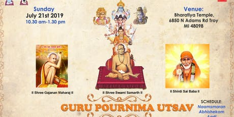 Detroit Guru Pournima Utsav tickets