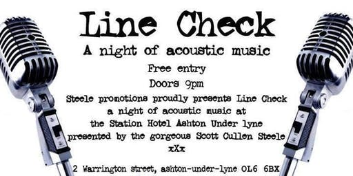 WSO Line Check Acoustic Open Mic Night