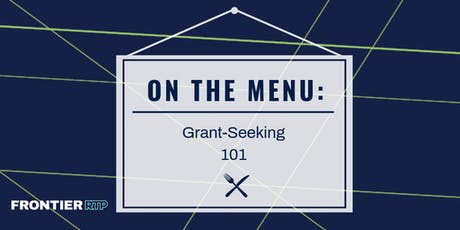 On the Menu: {Grant-Seeking 101} tickets