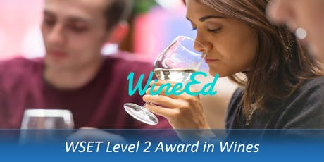 WineEd: WSET L2 Award in Wines (10/09, 17/09, 24/09 + Exam 1/10) tickets
