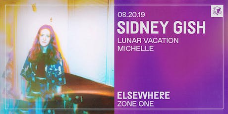 Sidney Gish @ Elsewhere (Zone One) tickets