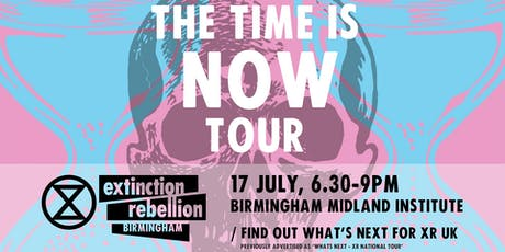 THE TIME IS NOW TOUR tickets