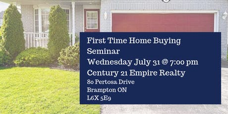 Sid Chandra Real Estate First Time Home Buying Seminar tickets