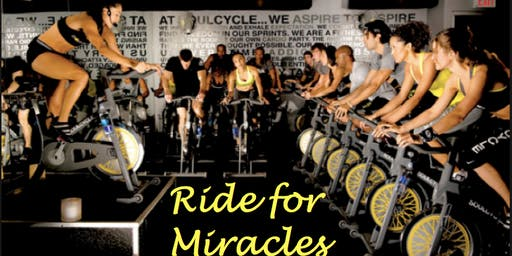 Ride for Miracles: SoulCycle Charity Ride!