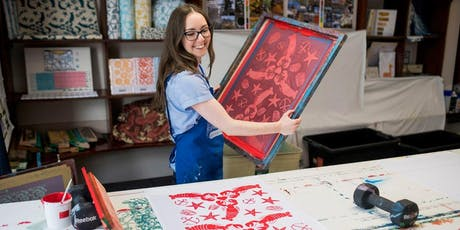 Learn to Screen Print with Zara Emily!  tickets