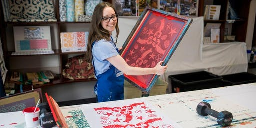Learn to Screen Print with Zara Emily!