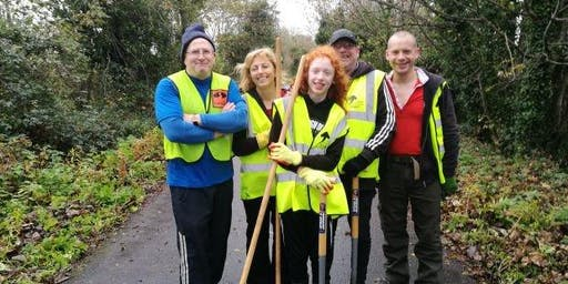 Tidy Task Days on the Comber Greenway
