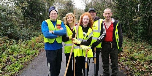 Tidy Task Days on the Comber Greenway - Billy Neill