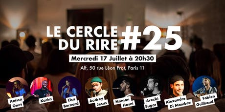 LE CERCLE DU RIRE #25 [STAND-UP COMEDY] billets