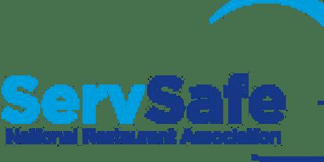 ServSafe Food Manager Testing Voucher and Test 8-13-19 tickets
