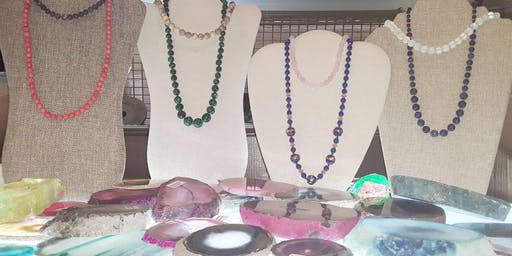 Create-Your-Own Semi Precious Stone Necklace