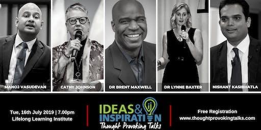 Ideas & Inspiration: Live at LLI (July 2019)