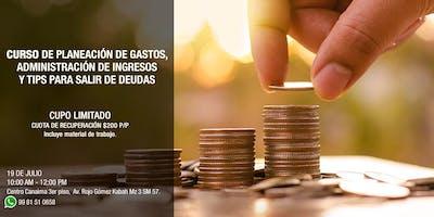 Curso de Planeación de Gastos y administración de ingresos