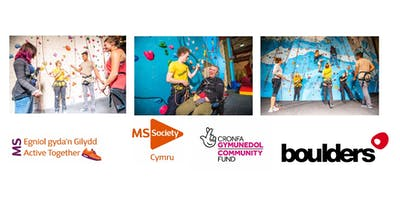 MS Society Cymru - Active Together Free Accessible Climbing event