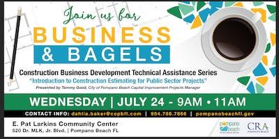 Business & Bagels Construction Business Development Technical Assistance