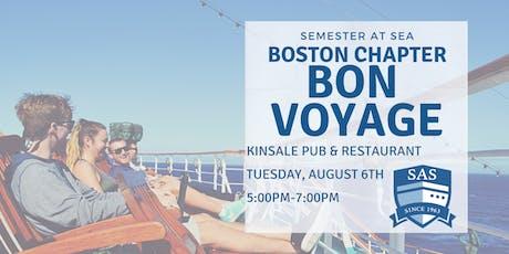 Boston Alumni Chapter Bon Voyage Reception - Semester at Sea tickets