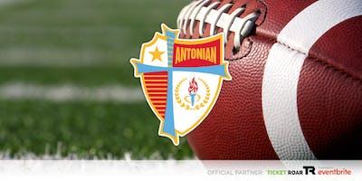 Antonian vs St Thomas  Varsity Football