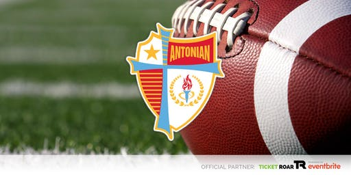 Antonian vs St Thomas  Varsity Football