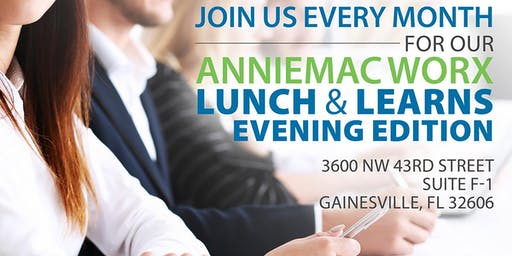 Evening Edition, AnnieMac Worx Lunch and learn