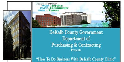How To Do Business With DeKalb County Clinic