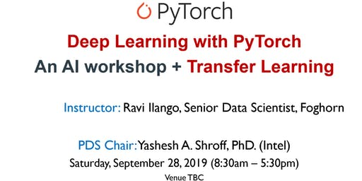 Deep Learning with PyTorch and Transfer Learning - AI Workshop - by SFBay ACM