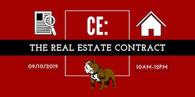 CE: The Real Estate Contract