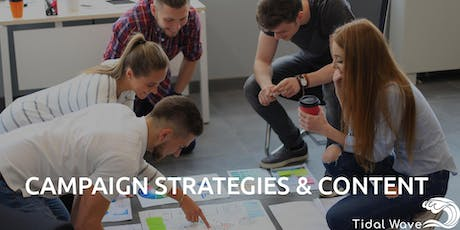 Social Media Campaign Strategies Workshop tickets