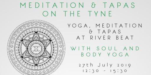 Yoga, Meditation, Vegan Tapas, Tea and Snacks at River Beat - £24