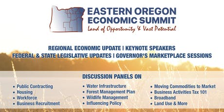 Eastern Oregon Economic Summit 2019 tickets