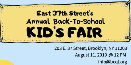 37th Street Kids Fair & Family Day tickets