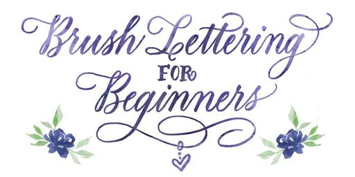September 28: Brush Lettering for Beginners with Maureen Vickery