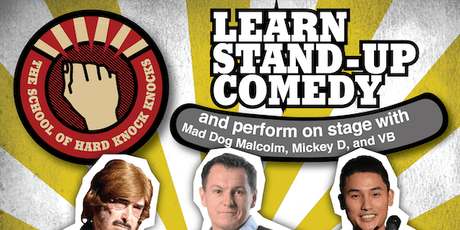 Adelaide: Learn Stand-up Comedy - Evenings: August 25 - 29, 2019 tickets
