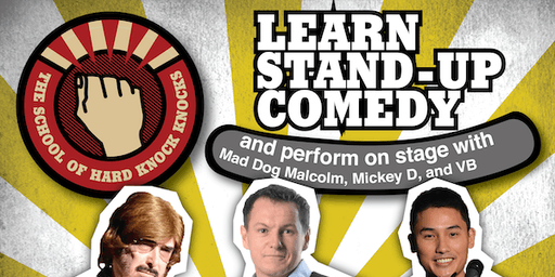 Adelaide: Learn Stand-up Comedy - Evenings: August 25 - 29, 2019