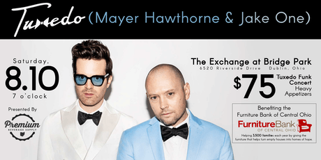 Tuxedo (Mayer Hawthorne & Jake One) - Benefiting FurnitureBank of Central Ohio tickets