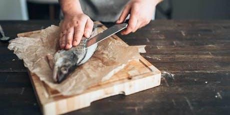 """Cuisinez comme un chef! Atelier de cuisine et repas """"poissons du Lac"""" de Genève billets"""